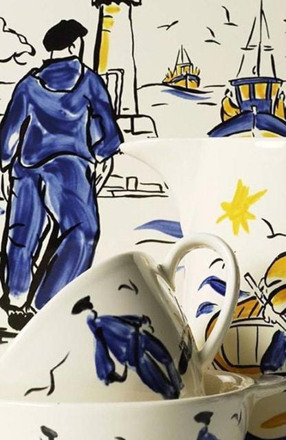 Collection Bleu Salé de Saint Clément et Lunéville