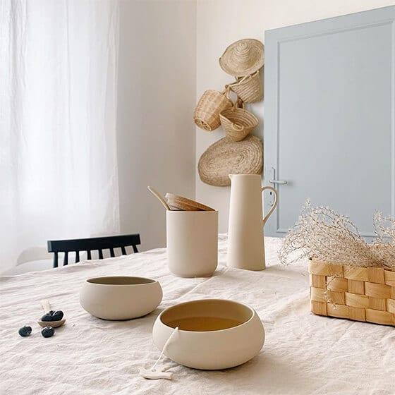 Bols et carafes en céramique - Degrenne