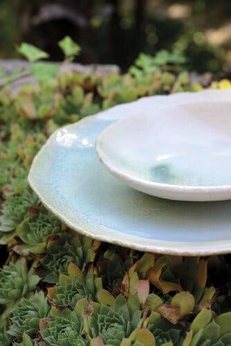 Jars Céramistes - La nature s'invite à table