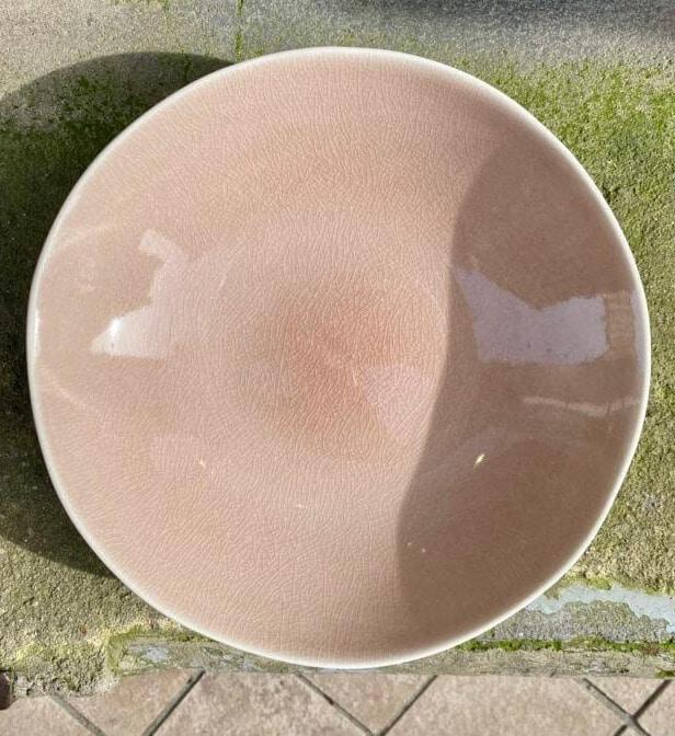 Assiette Pasta Rose 23CM, Collection TAMARIS, Jars Céramistes