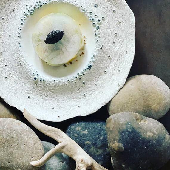 assiette caviar David Gallienne