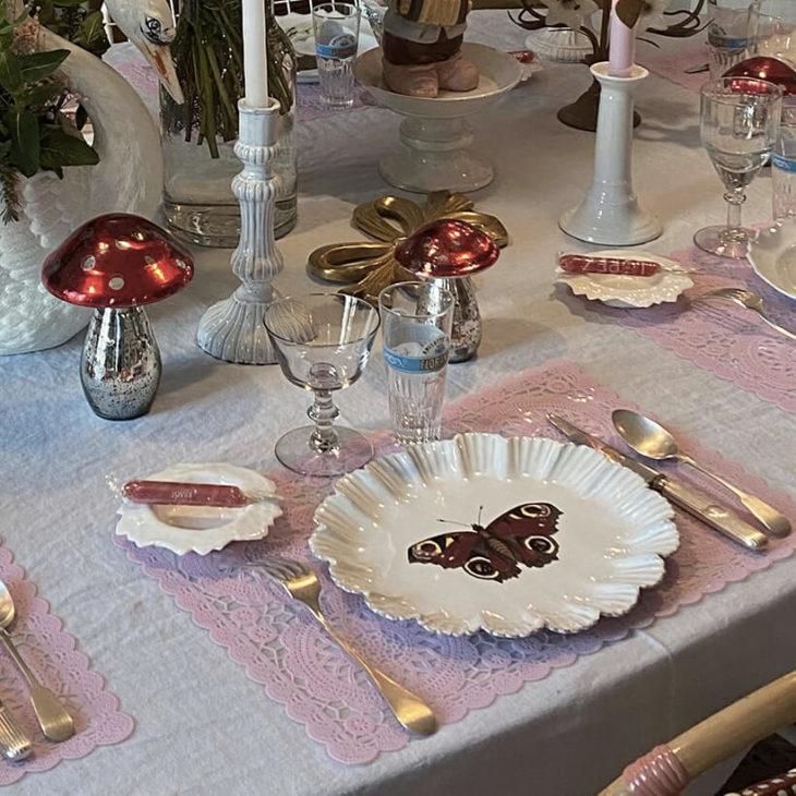 Les arts de la table - Table d'anniversaire