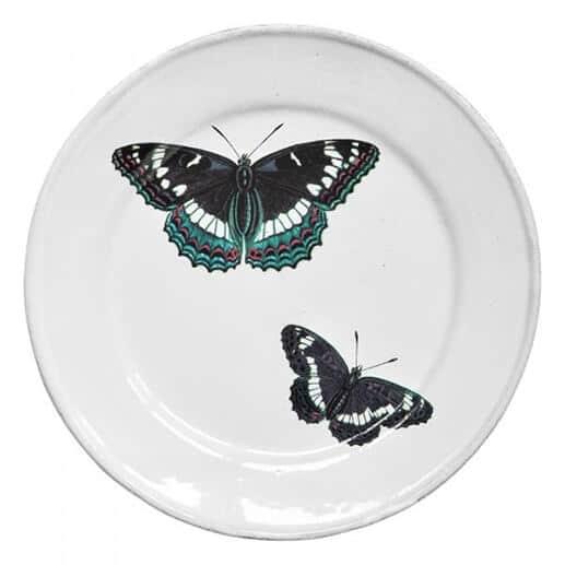 Assiette collection oiseaux et papillon par John Derian