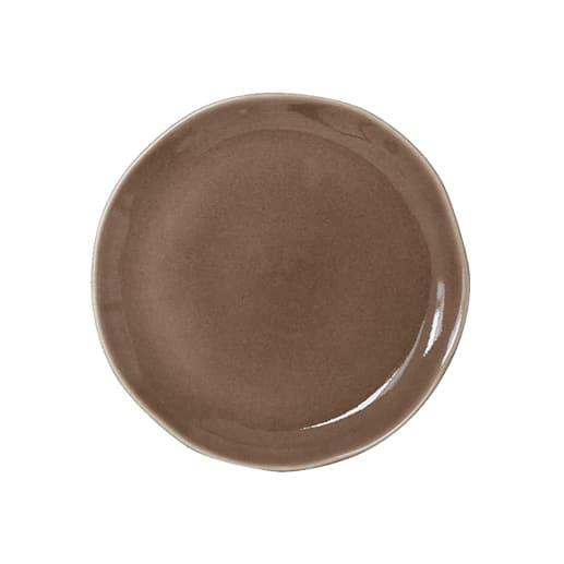 Plat rond de la collection new Maguelone en ceramistes