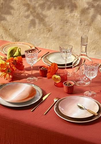 Déjeuner avec Les arts de la table