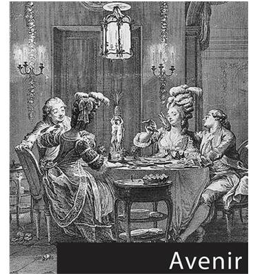 Les arts de la table - Avenir
