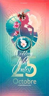 Wedding Table Contest le 25 octobre