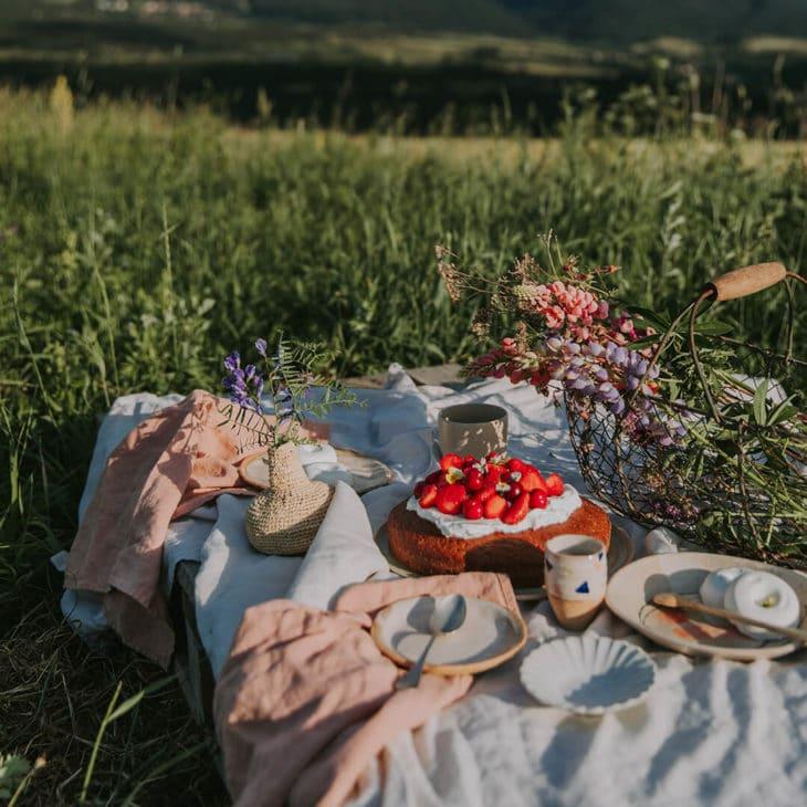 Pique-nique champêtre par Emilie Guelpa (Griottes)