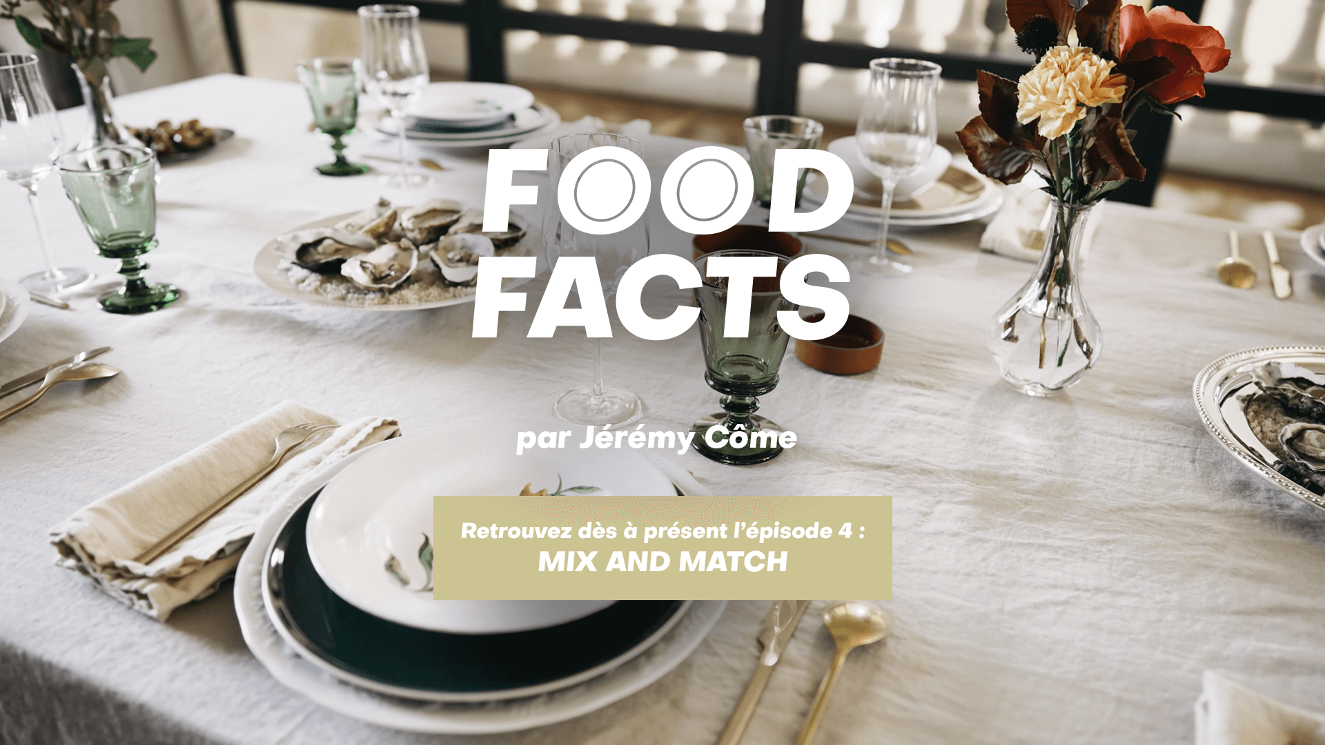 Food Facts, Les tables Mix and Match