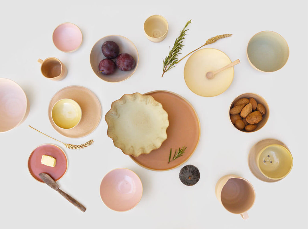 Laurette Broll - Assiettes en céramique